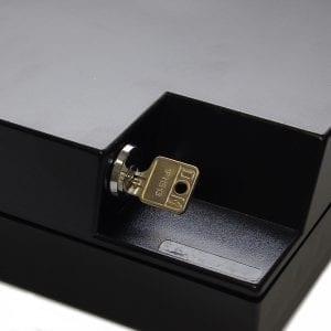 Boîte de rangement badges clé