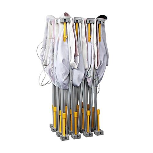 stand parapluie droit textile stand mobile structure exposition montage