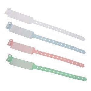 Bracelet hôpital avec panneau écriture – modèle adulte
