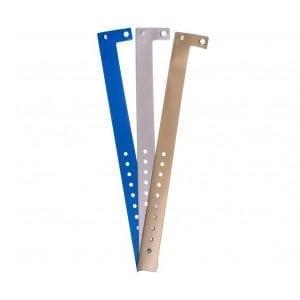Bracelets identification évènementiels aspect métal type L