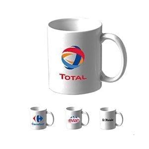 mugs et tasses 330ml publicitaires personnalisés avec votre logo