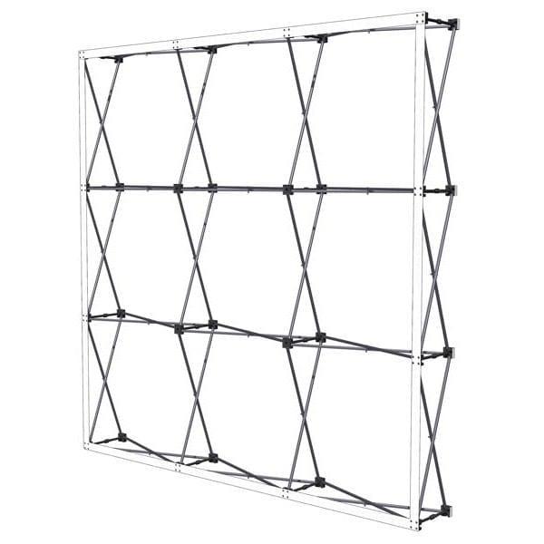 stand parapluie droit textile stand mobile structure exposition