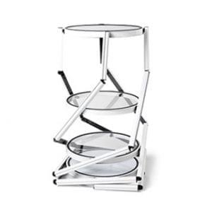 vitrine tour cylindrique pliable pour salon exposition stand transportable