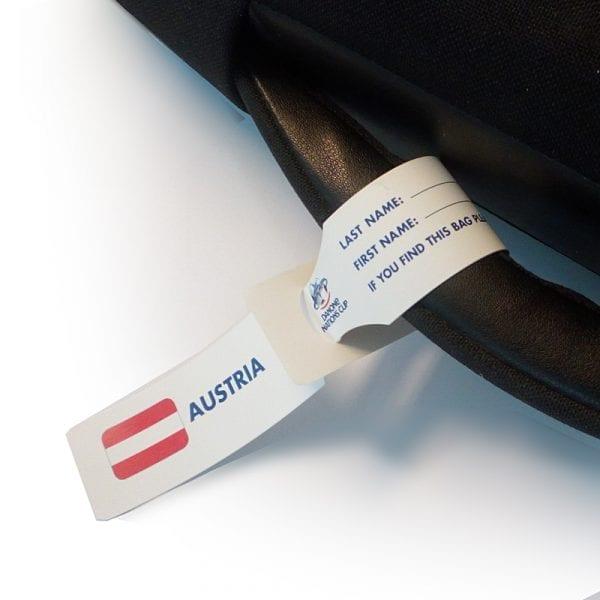etiquette bagage identification et personnalisation individuelle