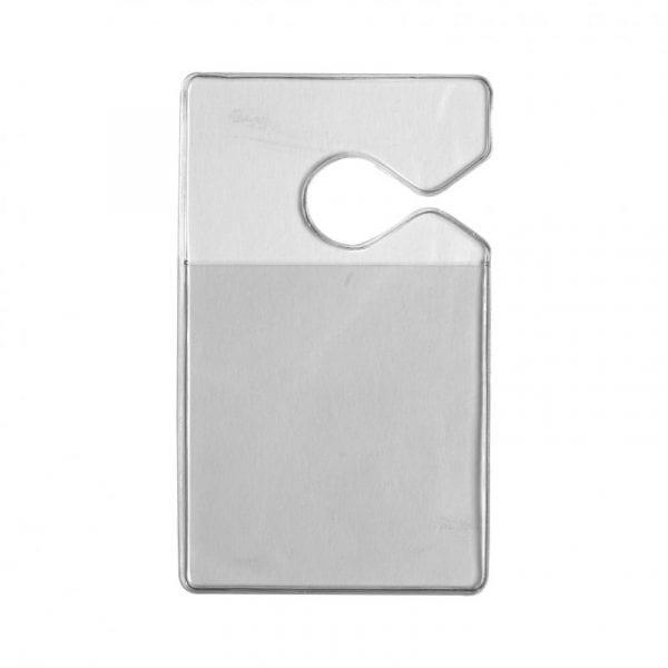 Porte-badge automobile en PVC thermoformé, idéal pour votre rétroviseur intérieur