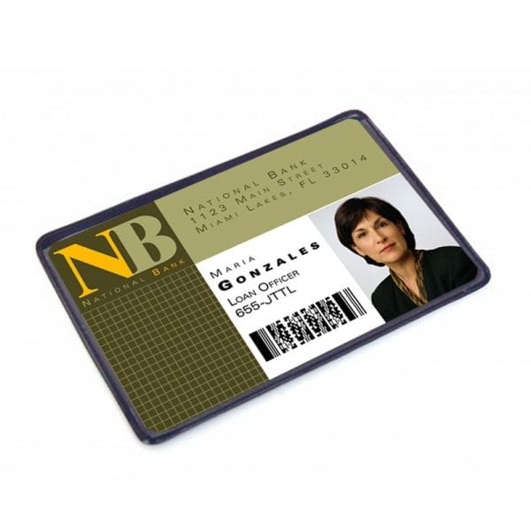 Pochette protection Etui-carte en PVC souple transparent 1